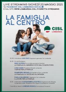 LIVE - La famiglia al centro
