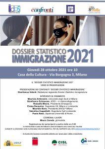 Milano - Dossier Statistico Immigrazione 2021